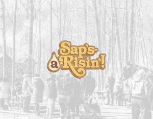 Sap's A Risin! Logo