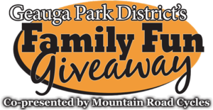Geauga Park District Family Fun Giveaway Logo